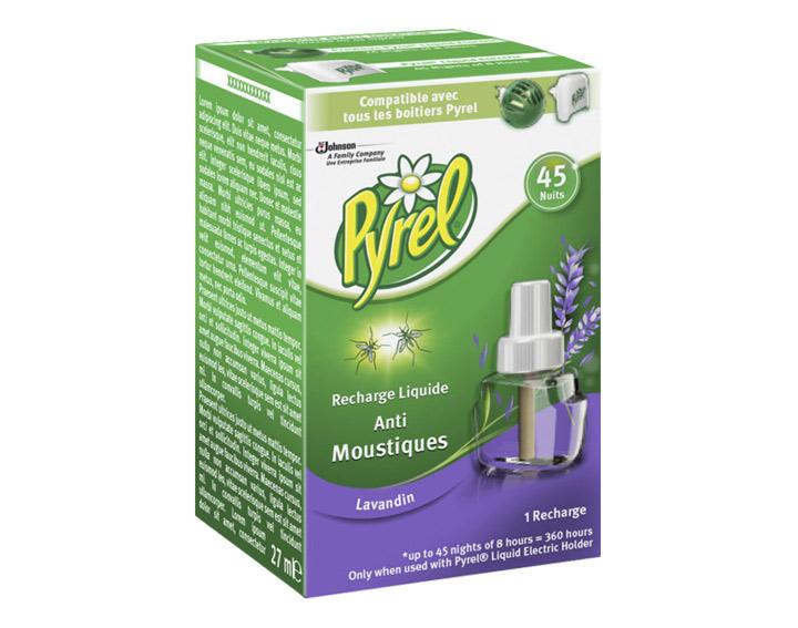 Pyrel® Recharge Liquide 45 Nuits Lavande