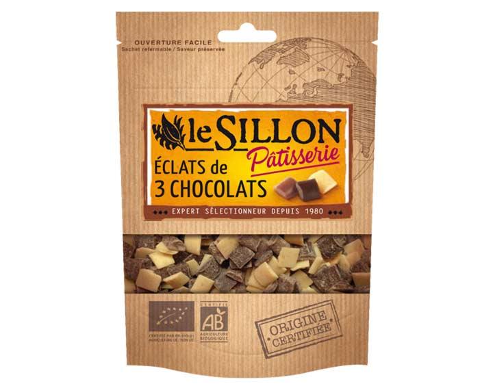 Eclats de 3 chocolats