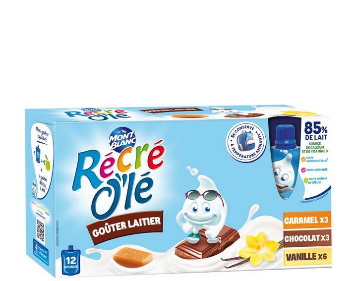 Vanille, Chocolat, Caramel