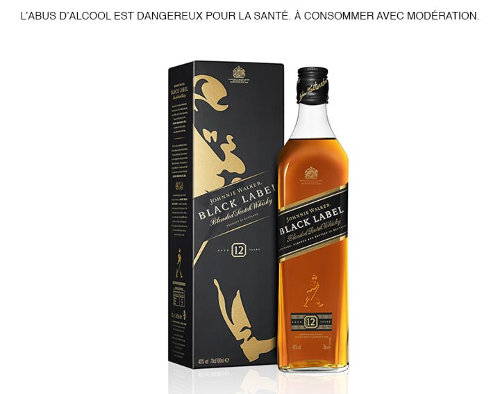 Johnnie Walker Black Label 70cl 40°