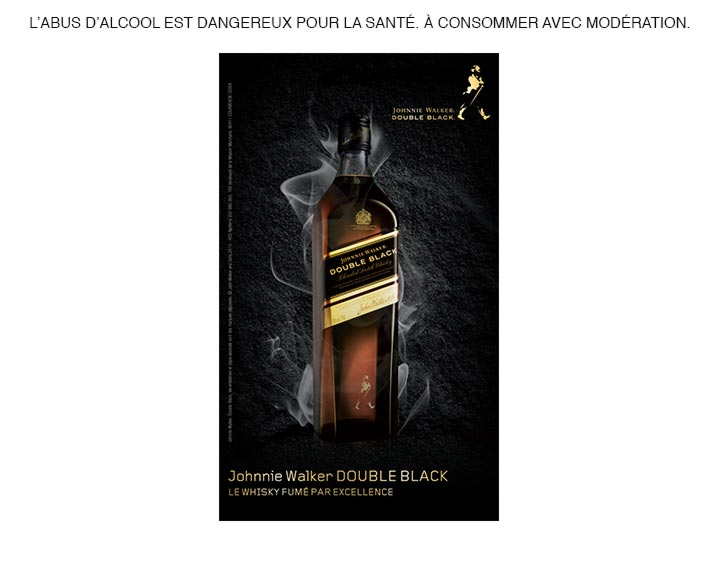 Whisky Johnnie Walker Double Black 70cl 40°