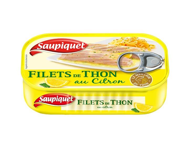 Filets de Thon au Citron