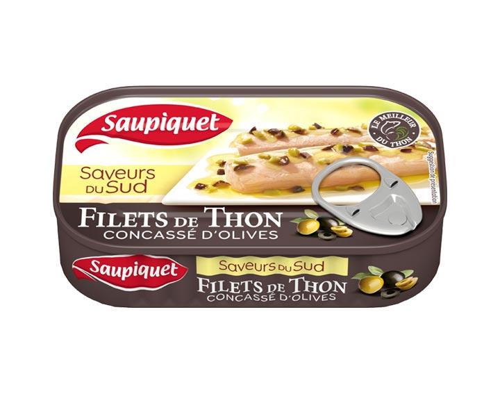 Filets de Thon Saveurs du Sud Concassé d'Olives