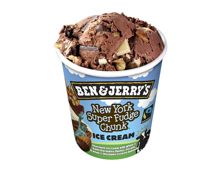 Ben&Jerry's New York Super Fudge Chunk