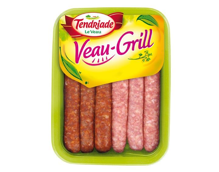 Assortiment saucisses et merguez x6 de Veau