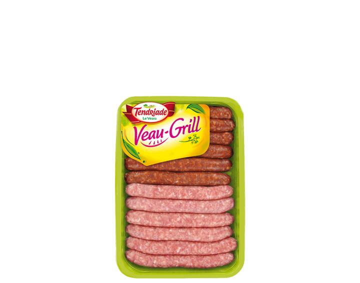 Assortiment de saucisses de Veau