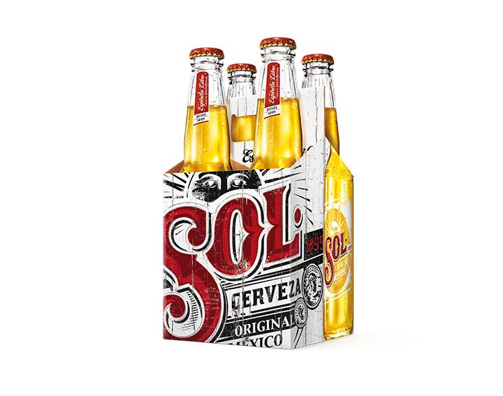 Bière SOL 4x33cl