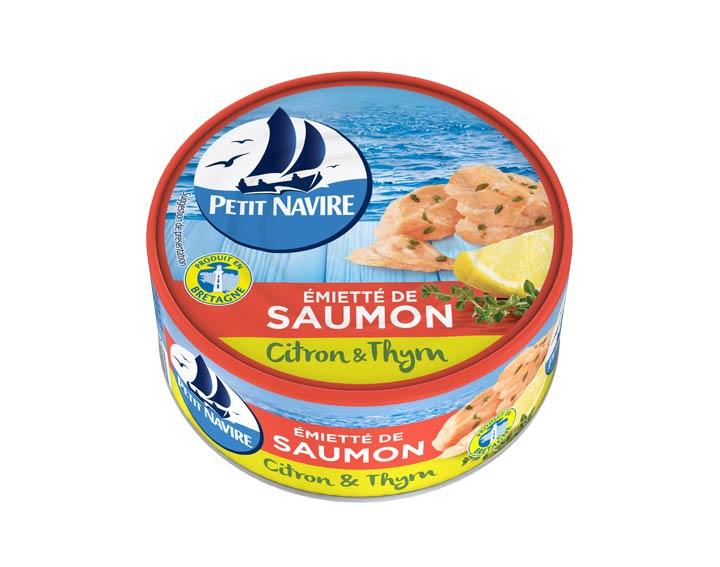 Émietté de Saumon Citron & Thym