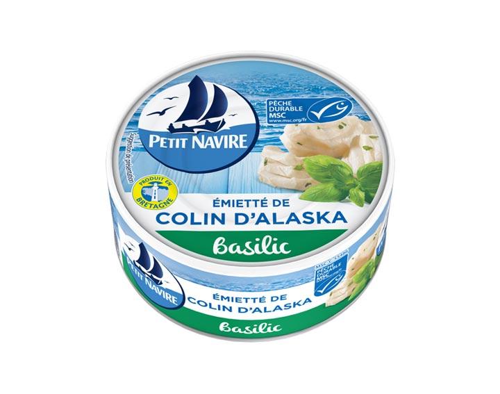 Émietté de Colin d'Alaska Basilic