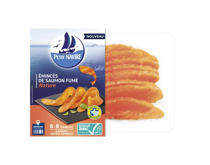 Emincés de saumon fumé ASC Nature