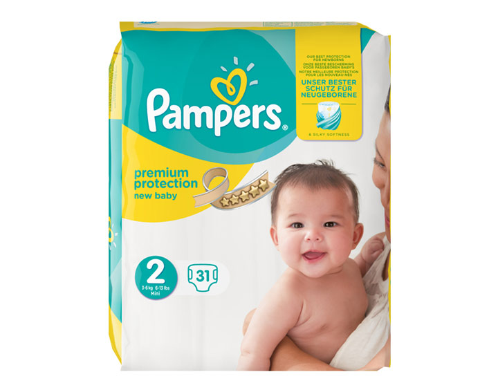 Premium Protection New Baby T2 (3-6 kg)