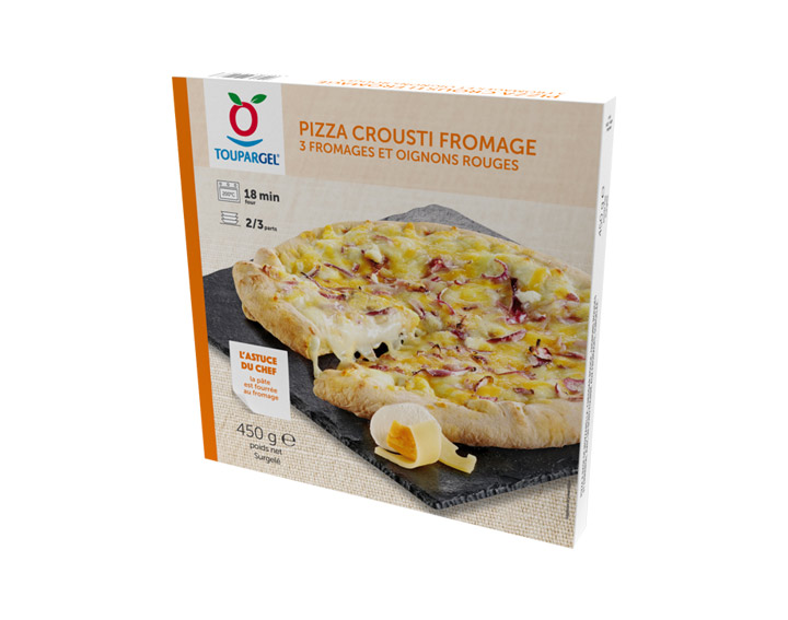 Pizza crousti fromage