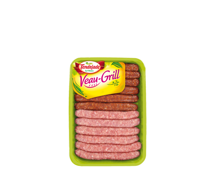 Assortiment de saucisses de Veau