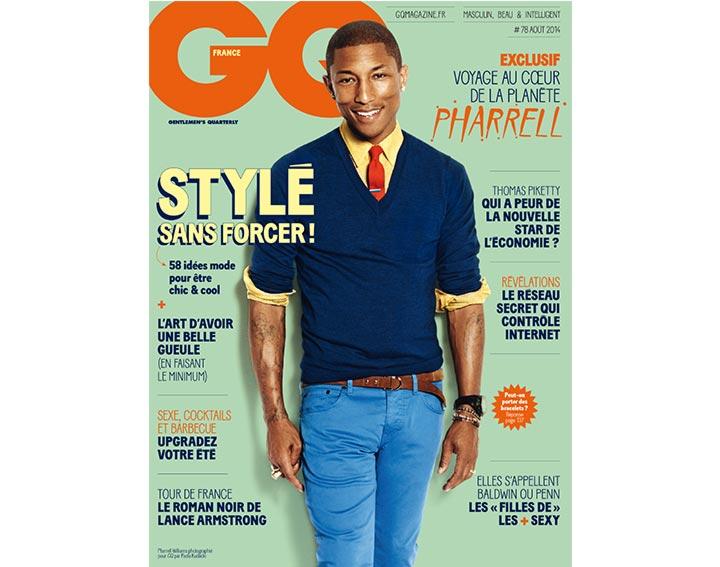 Abonnement GQ 1 an – 12 numéros