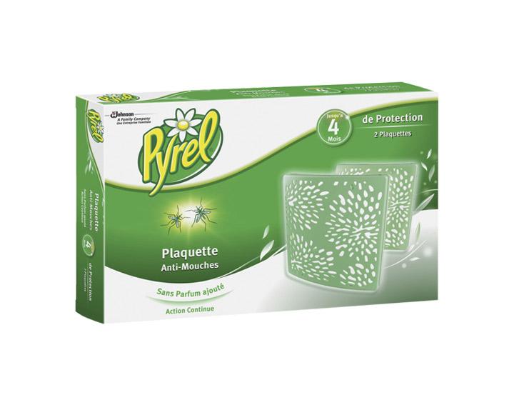 Pyrel® Plaquettes : Format discret - Sans Parfum Ajouté