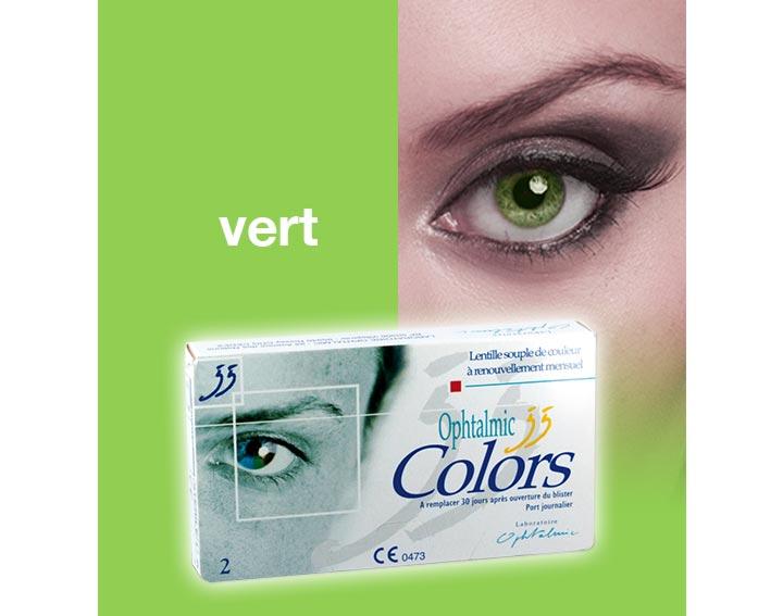 Ophtalmic Colors - vert