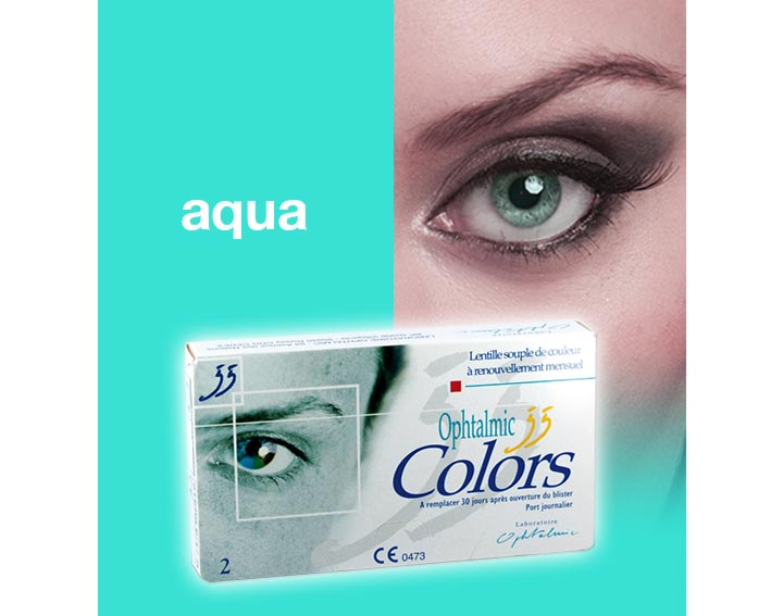Ophtalmic Colors - aqua