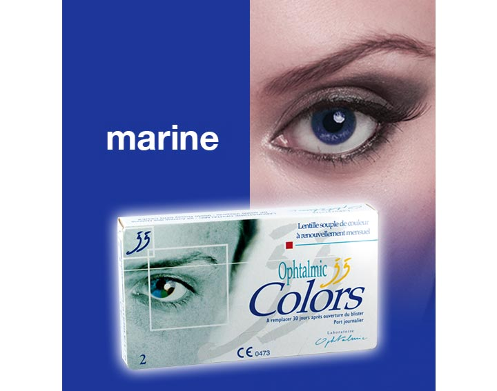 Ophtalmic Colors - marine