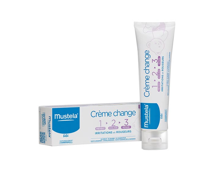 Crème change 1>2>3 en 50ml ou 100ml