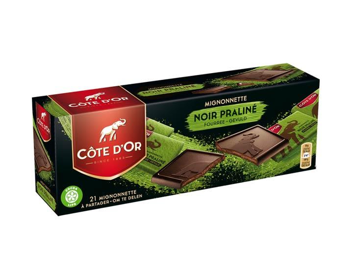 Côte d'Or Mignonnette Noir Praliné 210g