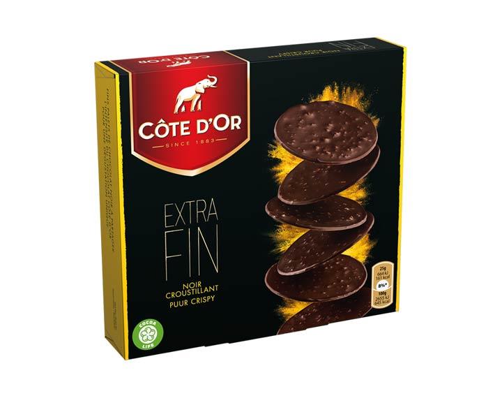 Côte d'Or Extra Fin Noir croustillant 150g