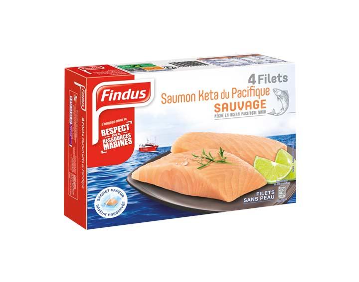 Filets de Saumon Kéta du Pacifique Sauvage