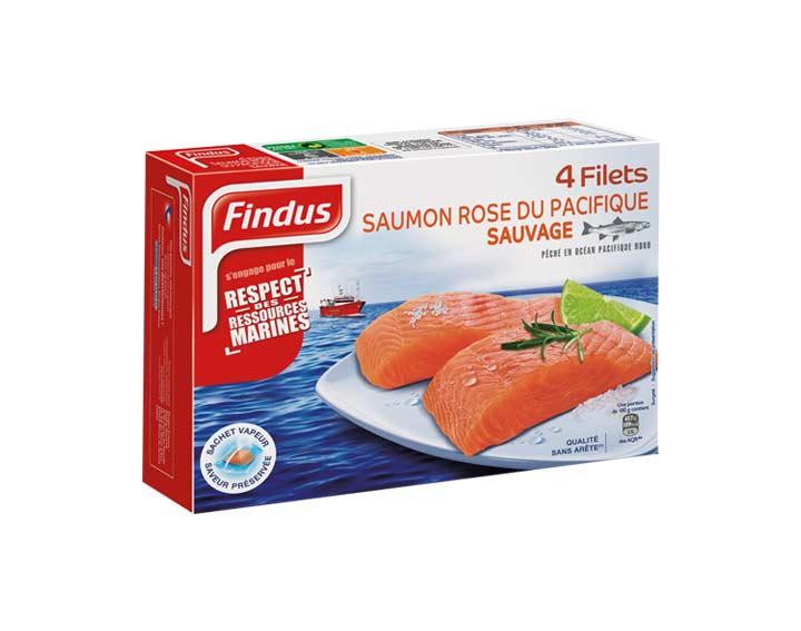 Filets de Saumon Rose du Pacifique Sauvage