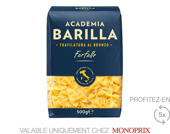 Academia Barilla Farfalle 500g