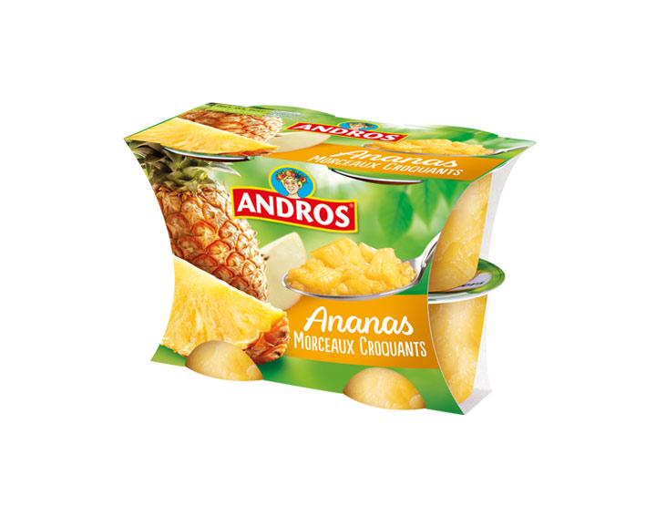 Ananas aux Morceaux Croquants