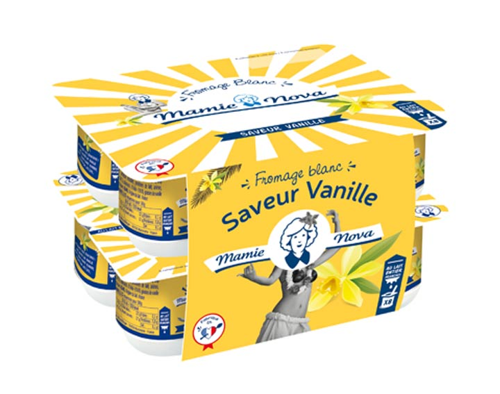 Fromage blanc Saveur Vanille x8