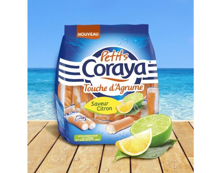 Petits Coraya Touche d'Agrume  saveur Citron