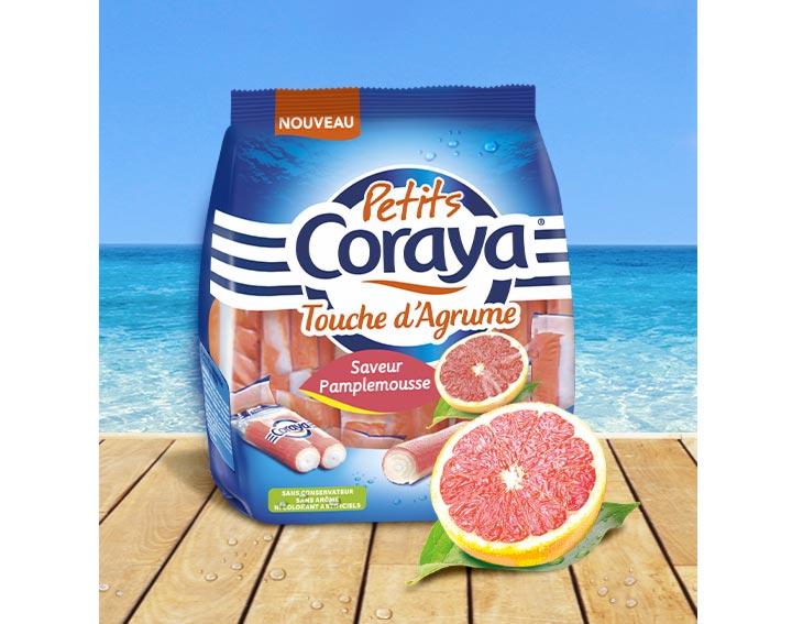 Petits Coraya Touche d'Agrume saveur Pamplemousse