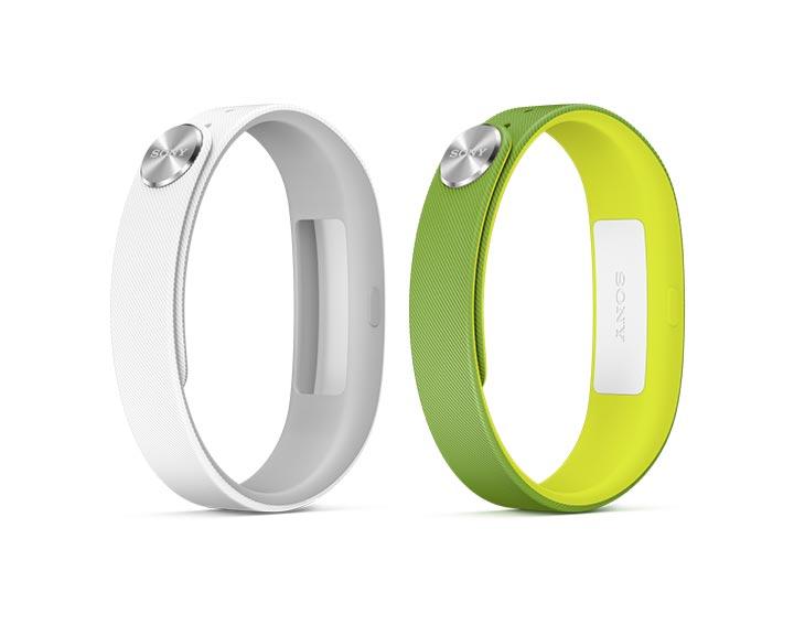 Sony Smartband SWR10 blanc + bracelet vert OFFERT