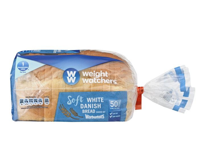 Soft White Danish Bread 400g