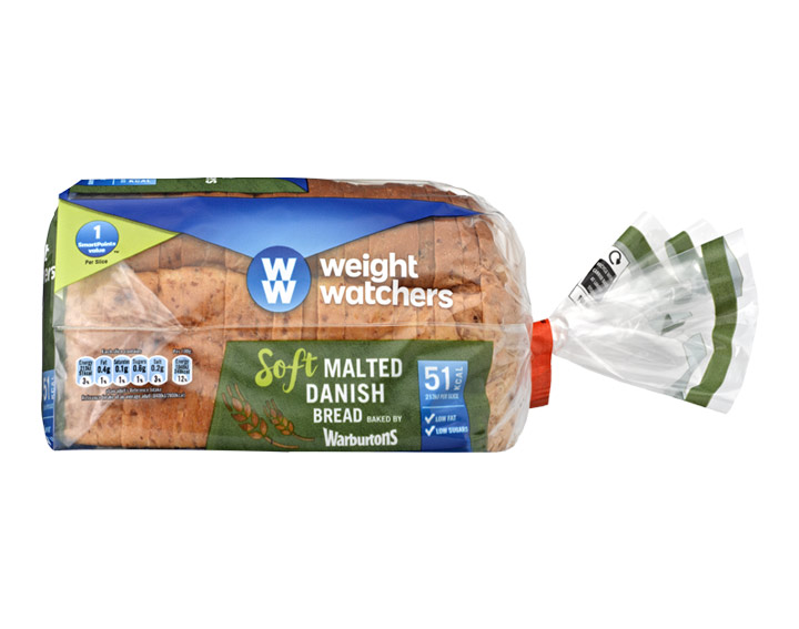 Soft Malted Danish Bread 400g