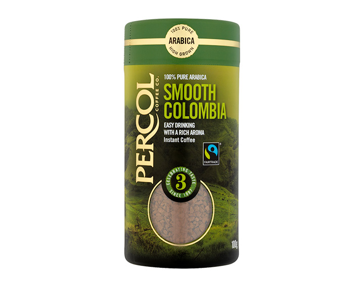 Fairtrade Smooth Colombia 100g