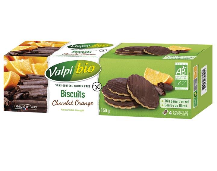 Biscuits Chocolat Orange