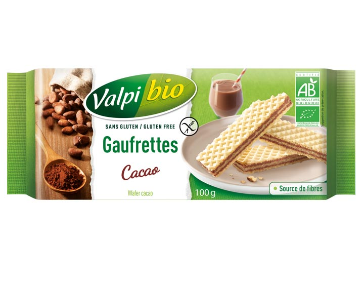 Gaufrettes Cacao