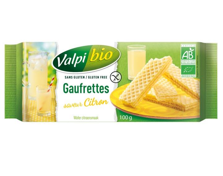 Gaufrettes Saveur Citron