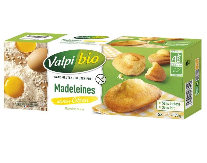 Madeleines Saveur Citron