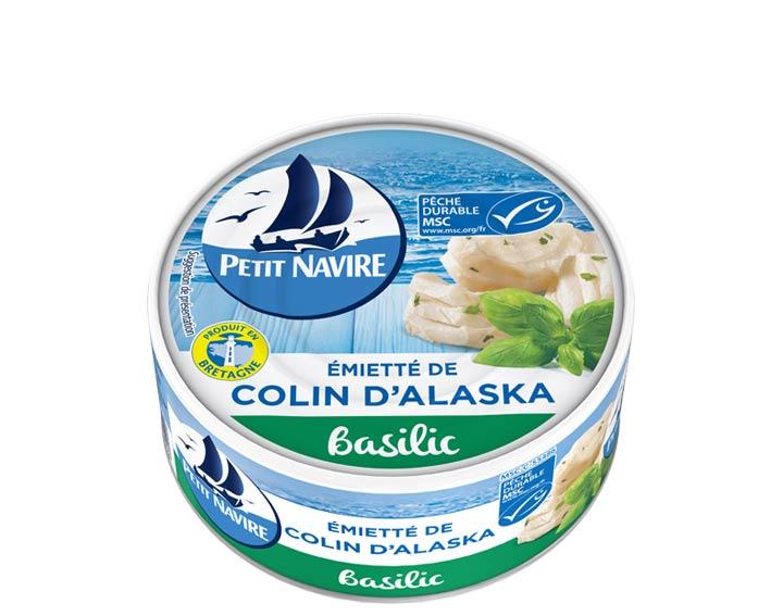 Emietté de Colin d'Alaska Basilic MSC