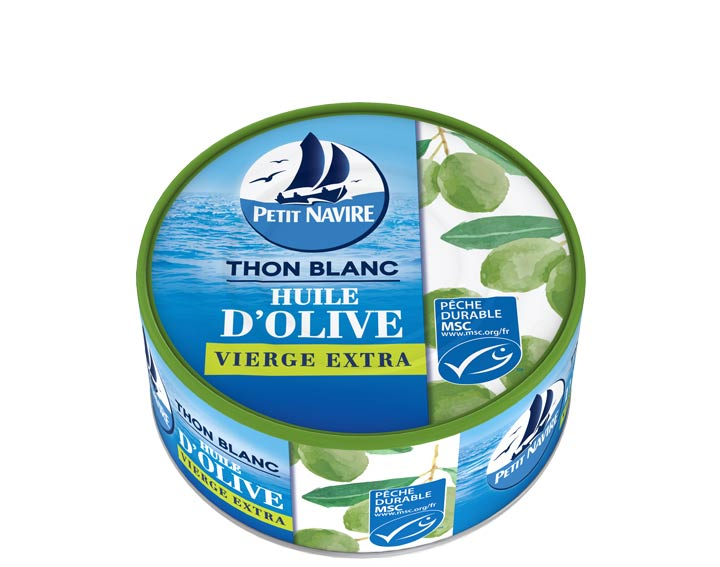 Thon Blanc Huile d'Olive Vierge Extra MSC