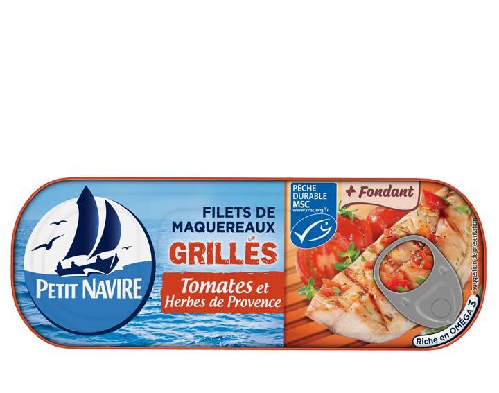 Filets de Maquereaux Tomates & Herbes de Provence MSC