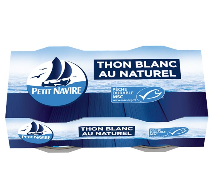 Thon Blanc au Naturel 2x80g MSC