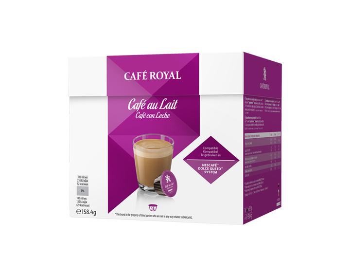 Capsules Café au Lait compatibles avec Nescafé®* Dolce Gusto®*