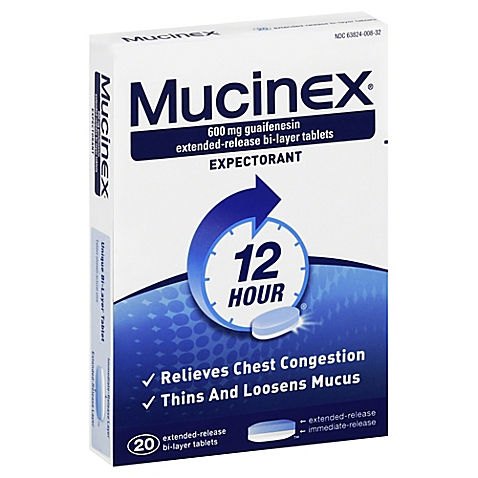 Mucinex® Extended Release Bi-Layer Caplets