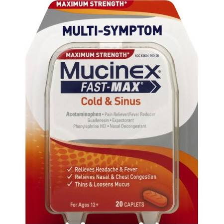 Mucinex® Fast-Max® Cold and Sinus