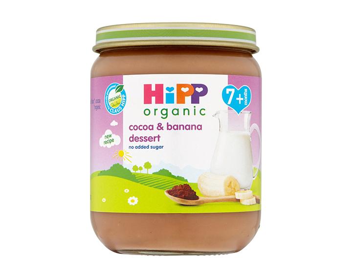 cocoa & banana dessert 7m+ 160g