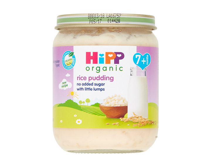 rice pudding with little lumps 7m+ 160g