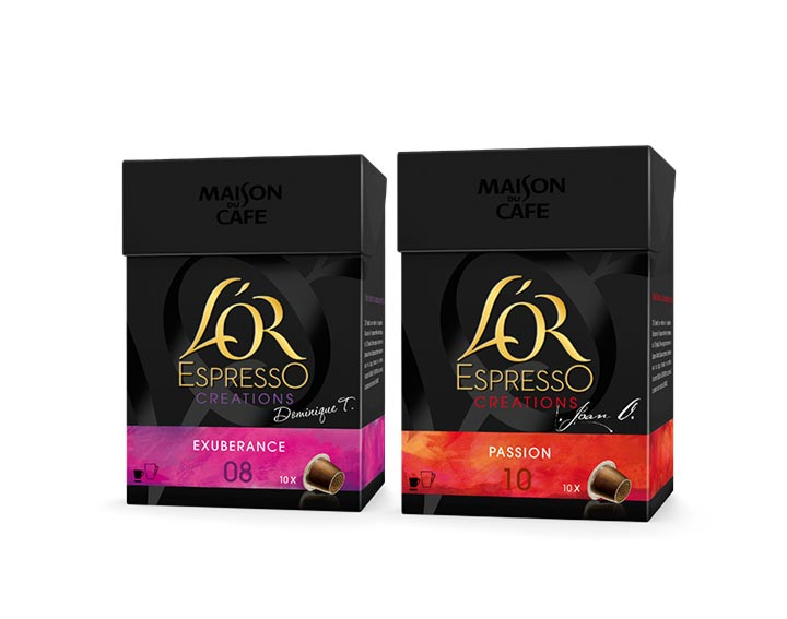 L'OR EspressO  Collection CRÉATIONS